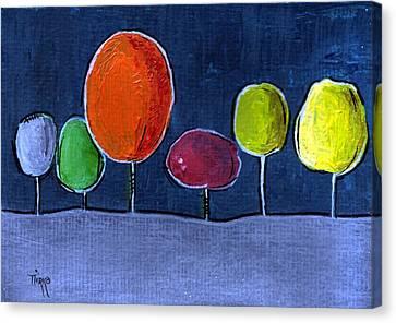 05 Trees Canvas Print by Mirko Gallery