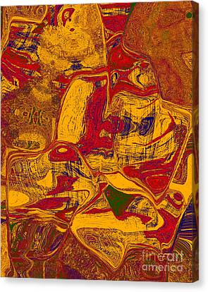 0518 Abstract Thought Canvas Print by Chowdary V Arikatla