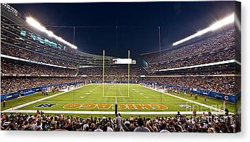 0587 Soldier Field Chicago Canvas Print by Steve Sturgill