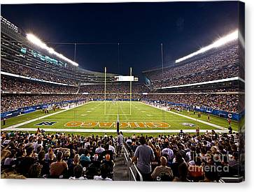 0588 Soldier Field Chicago Canvas Print by Steve Sturgill