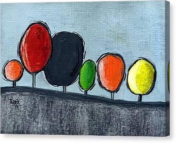 06 Tress Canvas Print by Mirko Gallery