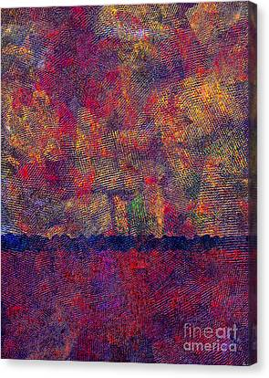 0799 Abstract Thought Canvas Print by Chowdary V Arikatla