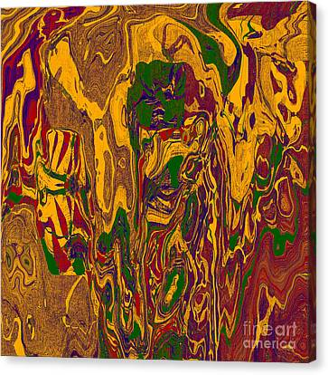 0478 Abstract Thought Canvas Print by Chowdary V Arikatla