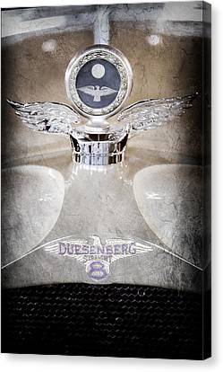 1926 Duesenberg Model A Boyce Motometer - Hood Ornament Canvas Print by Jill Reger