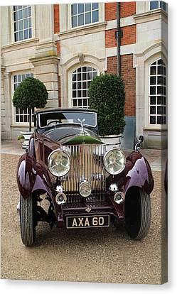 1936 Rolls-royce Phantom II Continental Freestone And Webb Coupe  Canvas Print by Peter Lloyd
