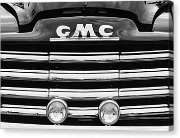 1952 Gmc Suburban Grille Emblem Canvas Print by Jill Reger