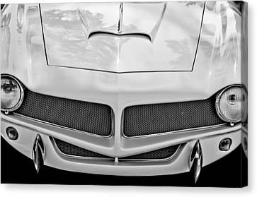 1954 Fiat 1100 Berlinetta Stanguellini Bertone Front End Canvas Print by Jill Reger