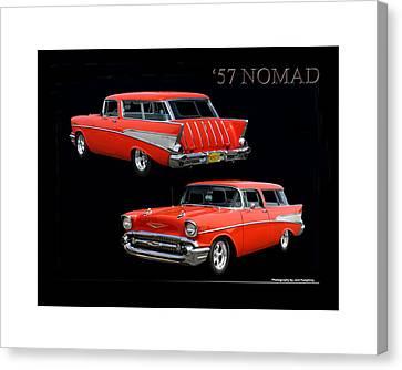 1957 Chevrolet Nomad Canvas Print by Jack Pumphrey