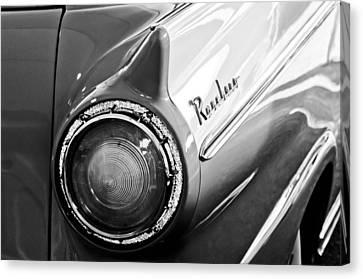 1957 Ford Ranchero Pickup Truck Taillight Canvas Print by Jill Reger