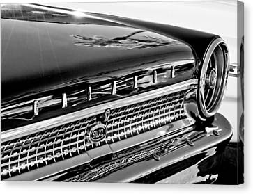 1963 Ford Galaxie 500xl Taillight Emblem Canvas Print by Jill Reger