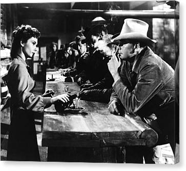 3:10 To Yuma  Canvas Print by Silver Screen
