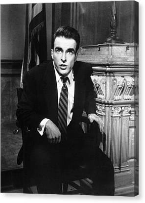A Place In The Sun, Montgomery Clift Canvas Print by Everett