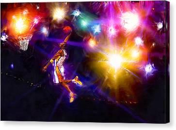 A Star Is Born Canvas Print by Alan Greene