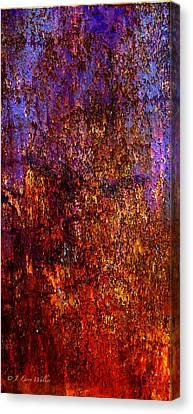 Abstract Canvas Print by J Larry Walker