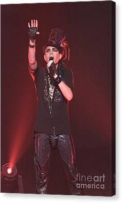 Adam Lambert Canvas Print by Front Row  Photographs