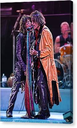 Aerosmith Canvas Print by Don Olea