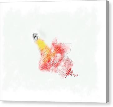 Alone Canvas Print by Ruth Clotworthy