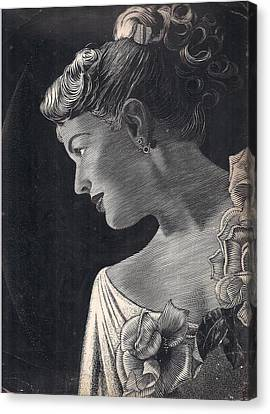 American Beauty Canvas Print by Tulsidas Tilwe