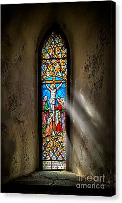 Ancient Glass Canvas Print by Adrian Evans