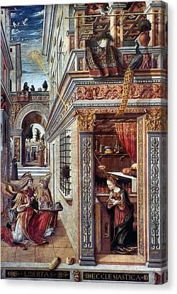Annunciation Canvas Print by Granger