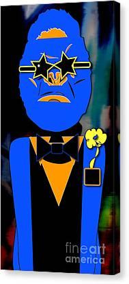 Ape Banquet Canvas Print by Marvin Blaine