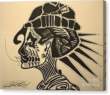 Audrey Hepburn Canvas Print by Michael Kulick