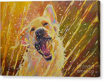 August Canvas Print by Kimberly Santini