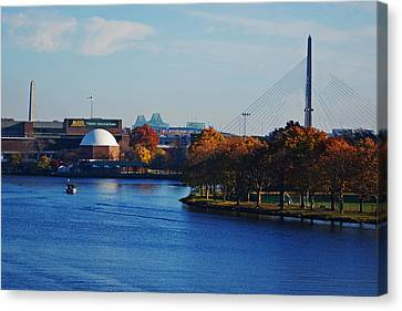 Autumn In Boston Canvas Print by Toby McGuire