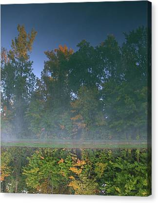 Autumn Reflection Canvas Print by Dan Sproul