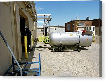 B53 Nuclear Bomb Disposal Canvas Print by National Nuclear Security Administration