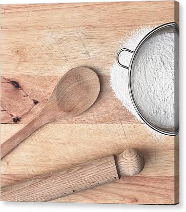 Baking  Canvas Print by Tom Gowanlock