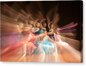 Ballet Canvas Print by Okan YILMAZ
