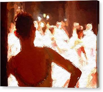 Ballet Canvas Print by Steve K