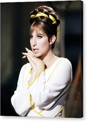 Barbra Streisand In Funny Lady  Canvas Print by Silver Screen