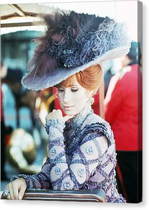 Barbra Streisand In Hello, Dolly!  Canvas Print by Silver Screen