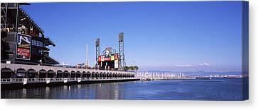 Baseball Park At The Waterfront, At&t Canvas Print by Panoramic Images