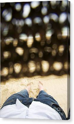 Beach Sleeper Canvas Print by Jorgo Photography - Wall Art Gallery