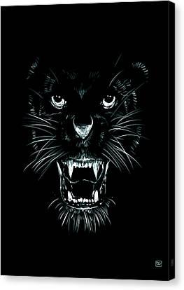 Beast Canvas Print by Giuseppe Cristiano