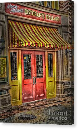 Behind These Doors Canvas Print by Arnie Goldstein