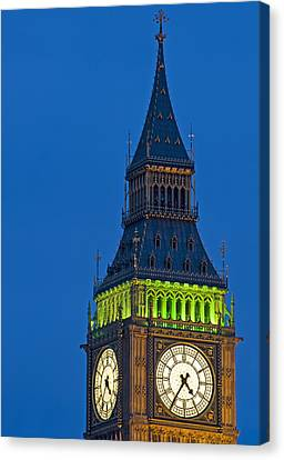 Big Ben London Canvas Print by Matthew Gibson