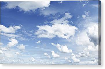 Big Blue Sky Canvas Print by Les Cunliffe
