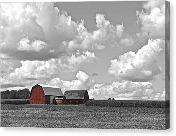 Big Sky Canvas Print by Frozen in Time Fine Art Photography