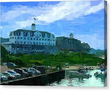 Block Island Canvas Print by Lourry Legarde