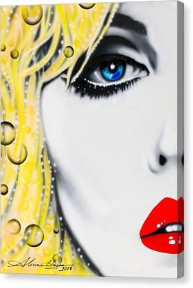Blondie Canvas Print by Alicia Hayes