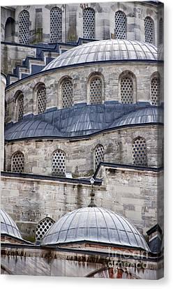 Blue Mosque 01 Canvas Print by Antony McAulay