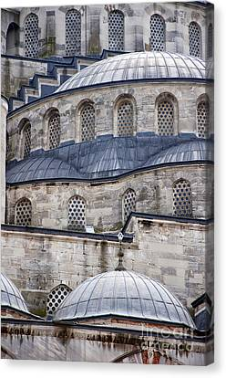 Blue Mosque 01 Canvas Print by Antony McAulay