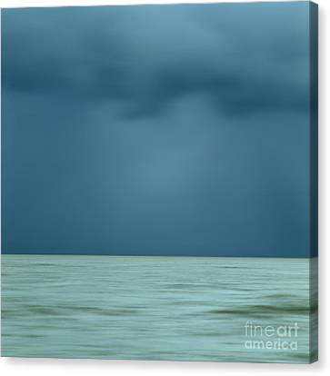 Blue Sea Canvas Print by Bernard Jaubert