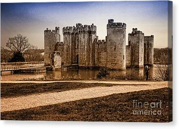 Bodiam Castle Canvas Print by Donald Davis