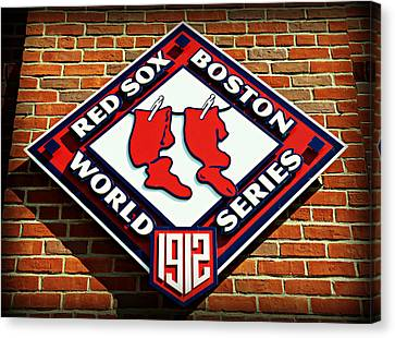Boston Red Sox 1912 World Champions Canvas Print by Stephen Stookey