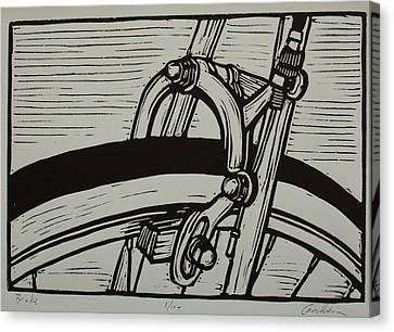 Brake Canvas Print by William Cauthern